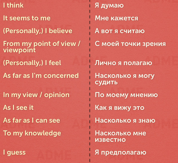 English to russian dating phrases