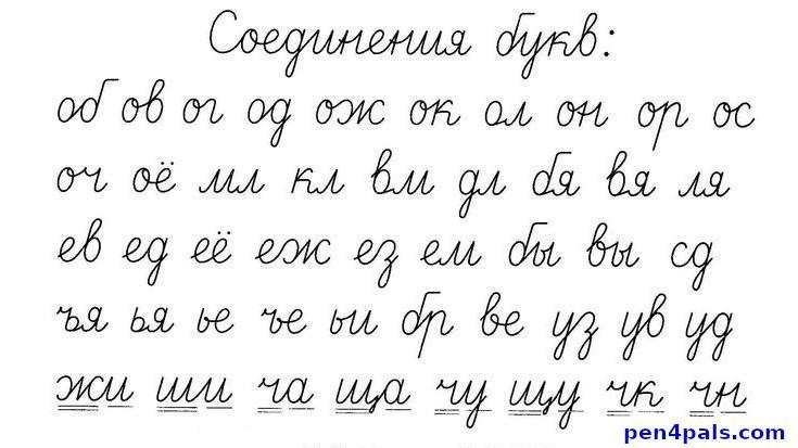 ᐉ Easy Read and Write Russian Cursive for ⚤Adults (video
